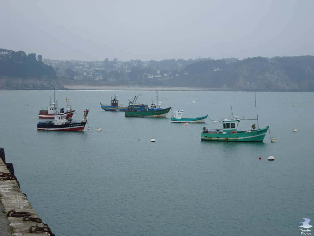 Morgat port
